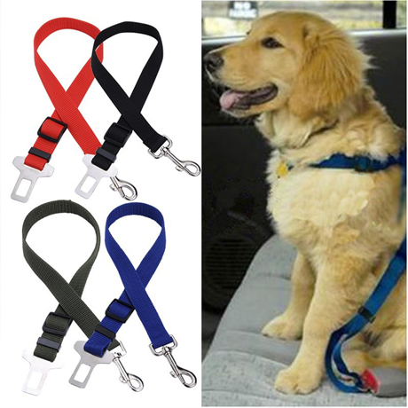 Pet Safety Adjustable Seat Belts - BoardwalkBuy - 1