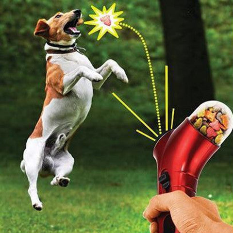 Dog Training Food Catapult Incentive Tool