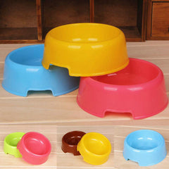 Pets Plastic Bowl Feed Drinking Bowl