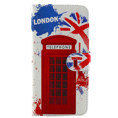 Telephone Booth Stand Leather Case for iPhone 6 Plus - BoardwalkBuy - 4