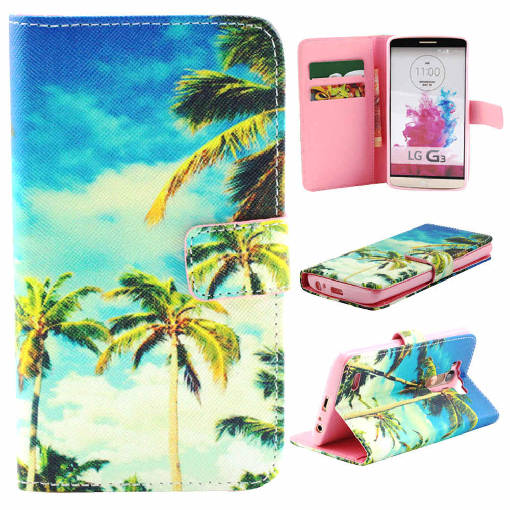Coco Palm Leather Case for LG G3 - BoardwalkBuy - 1