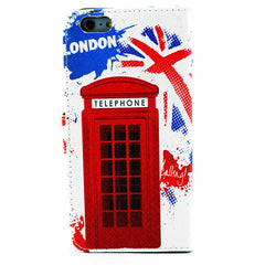 Telephone Booth Stand Leather Case for iPhone 6 Plus - BoardwalkBuy - 5