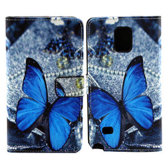 Butterfly Wallet Case for Samsung Note 4 - BoardwalkBuy - 5