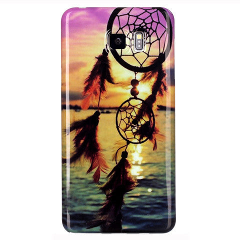 Samsung Galaxy note 5 Sunset Campanula case - BoardwalkBuy - 1