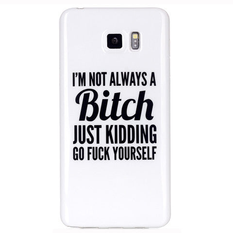 Samsung Galaxy note 5 Bitch letter case