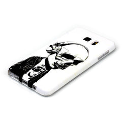 Samsung Galaxy note 5 Headphones Skull case - BoardwalkBuy - 3