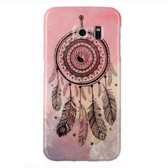 Samsung Galaxy S6edge Cover Pink Campanula - BoardwalkBuy - 1