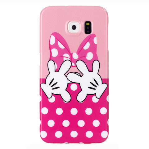 Samsung Galaxy S6 Butterfly fingers case - BoardwalkBuy - 1