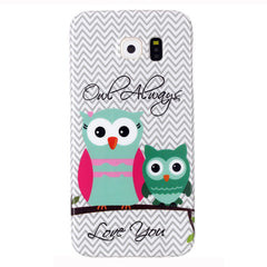Samsung Galaxy S6 2 Owls case - BoardwalkBuy - 1