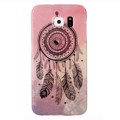Samsung Galaxy S6 Pink Campanula case - BoardwalkBuy - 1