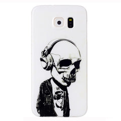 Samsung Galaxy S6 Headphones Skull case - BoardwalkBuy - 1