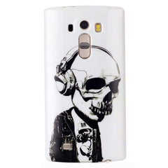 Headphones Skull Back case for LG G4 - BoardwalkBuy - 1
