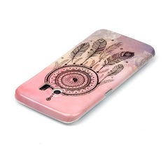 Samsung Galaxy S6edge Cover Pink Campanula - BoardwalkBuy - 2