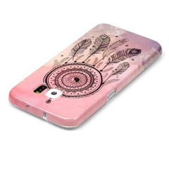 Samsung Galaxy S6 Pink Campanula case - BoardwalkBuy - 2