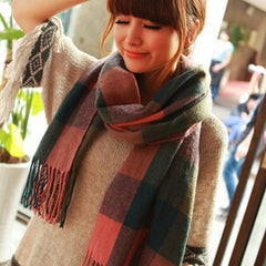 Scarf Plaid Thick Brand Shawls And Scarves For Women - BoardwalkBuy - 9