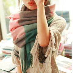 Scarf Plaid Thick Brand Shawls And Scarves For Women - BoardwalkBuy - 7