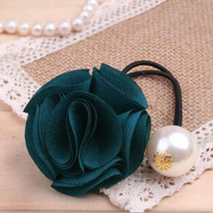 Fashion Women Girl Pearl camellia Hair band - BoardwalkBuy - 13