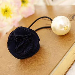 Fashion Women Girl Pearl camellia Hair band - BoardwalkBuy - 15