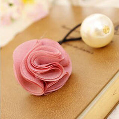 Fashion Women Girl Pearl camellia Hair band - BoardwalkBuy - 8