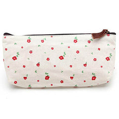 Floral Makeup Tool Storage Pouch - BoardwalkBuy - 3