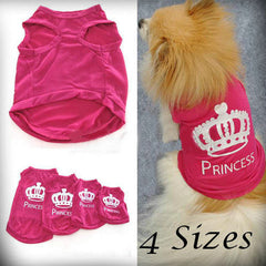 Princess Vest For Small Cat