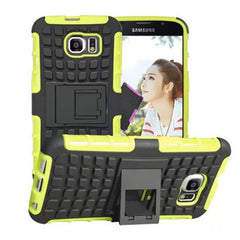Shock Proof Hybrid Stand Case for Samsung S6 - BoardwalkBuy - 2