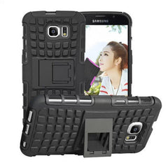 Shock Proof Hybrid Stand Case for Samsung S6 - BoardwalkBuy - 3