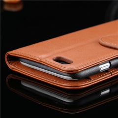 PU Stand Leather Case for iPhone 6 Plus - BoardwalkBuy - 3