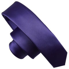 Mens Plain Slim Narrow Arrow Necktie - BoardwalkBuy - 2