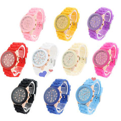 Geneva Jelly Watch - Assorted Colors - BoardwalkBuy - 2