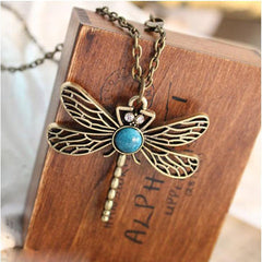 Game Of Thrones Vintage Dragonfly Necklace - BoardwalkBuy - 3