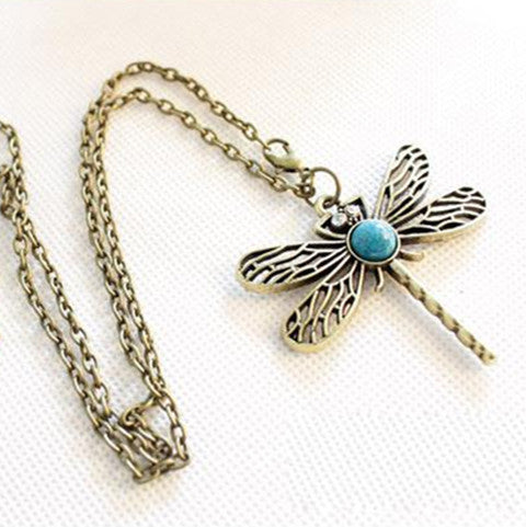 Game Of Thrones Vintage Dragonfly Necklace - BoardwalkBuy - 1