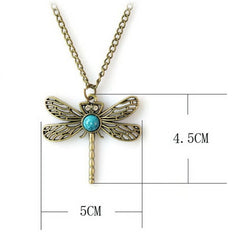 Game Of Thrones Vintage Dragonfly Necklace - BoardwalkBuy - 6