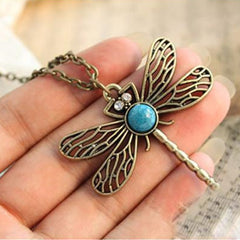 Game Of Thrones Vintage Dragonfly Necklace - BoardwalkBuy - 5