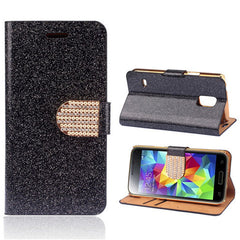 Bling Leather Stand Case for Samsung S5 - BoardwalkBuy - 7