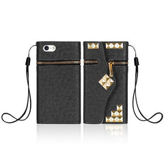 iPhone 5 5S case  Flip Design With Card Holders - BoardwalkBuy - 9