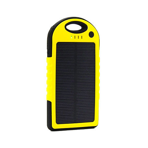 5000mah Solar Charger Power Bank