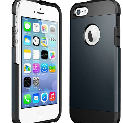 Slim Armor Hard Case for iPhone 6 5.5 Plus - BoardwalkBuy - 1