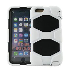 Hybrid Hard Stand Case for iPhone 6 Plus - BoardwalkBuy - 4