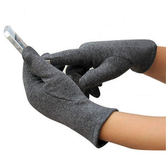 Women's Fashion 4 button touch screen warm gloves - BoardwalkBuy - 2