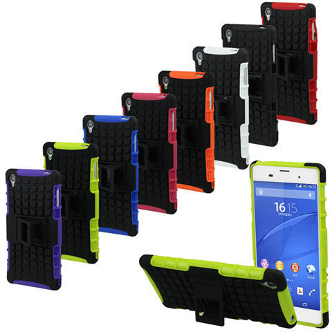 Spide Hybrid Armor Case for Sony Xperia Z3 - BoardwalkBuy - 1