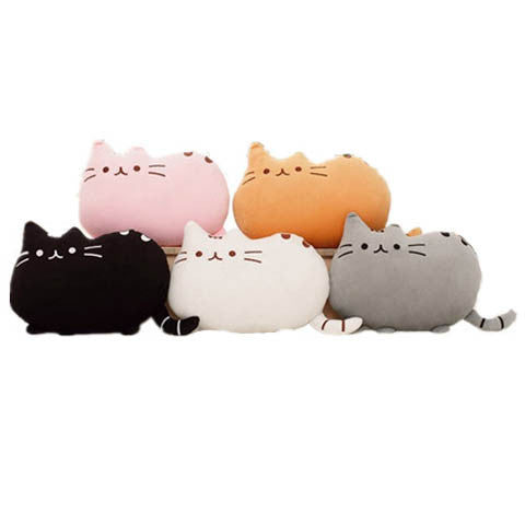 Doll Cat  Biscuit Shape  Pillow Decorative Cushion