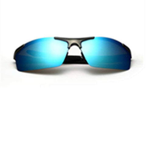 Aluminium Magnesium  Mirror Layer Man Driving Sun Glasses