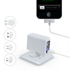 5V 2.1A 4 Ports Universal Wall USB Charger - BoardwalkBuy - 1