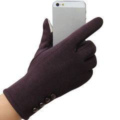 Women's Fashion 4 button touch screen warm gloves - BoardwalkBuy - 6