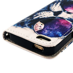 PU leather Flip Stand Case For iPhone 5 - BoardwalkBuy - 4