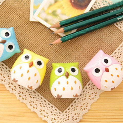 Cute Owl Pencil Sharpener