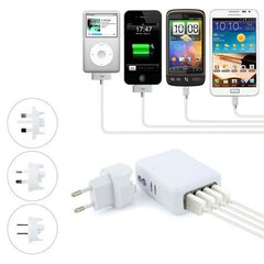 5V 2.1A 4 Ports Universal Wall USB Charger - BoardwalkBuy - 6