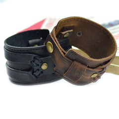Handmade Genuine Leather Fashion  Bracelets & bangle - BoardwalkBuy - 7