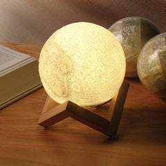 Moon Night-Light - Touch The Moon To Turn It On or Off